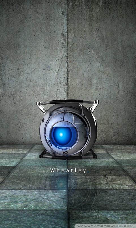 Iphone 6 Wallpaper Logo Portal 2 Wheatley 4k Hd Desktop Wallpaper For 4k Ultra Hd