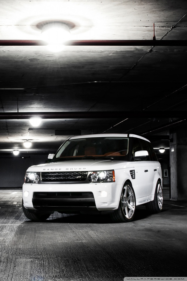 Range Rover Dark 4K HD Desktop Wallpaper For 4K Ultra HD