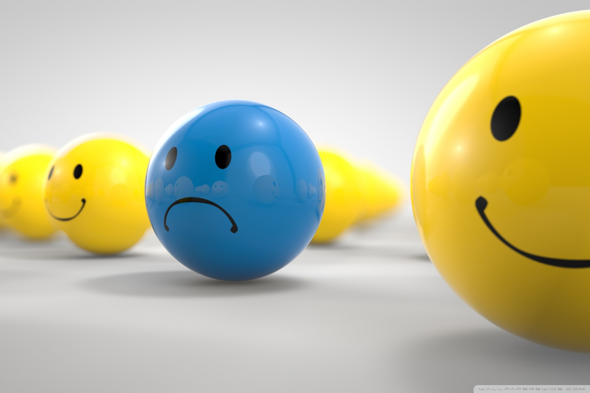 sad ball ❤ uhd desktop wallpaper for ultra hd 4k 8k • widescreen