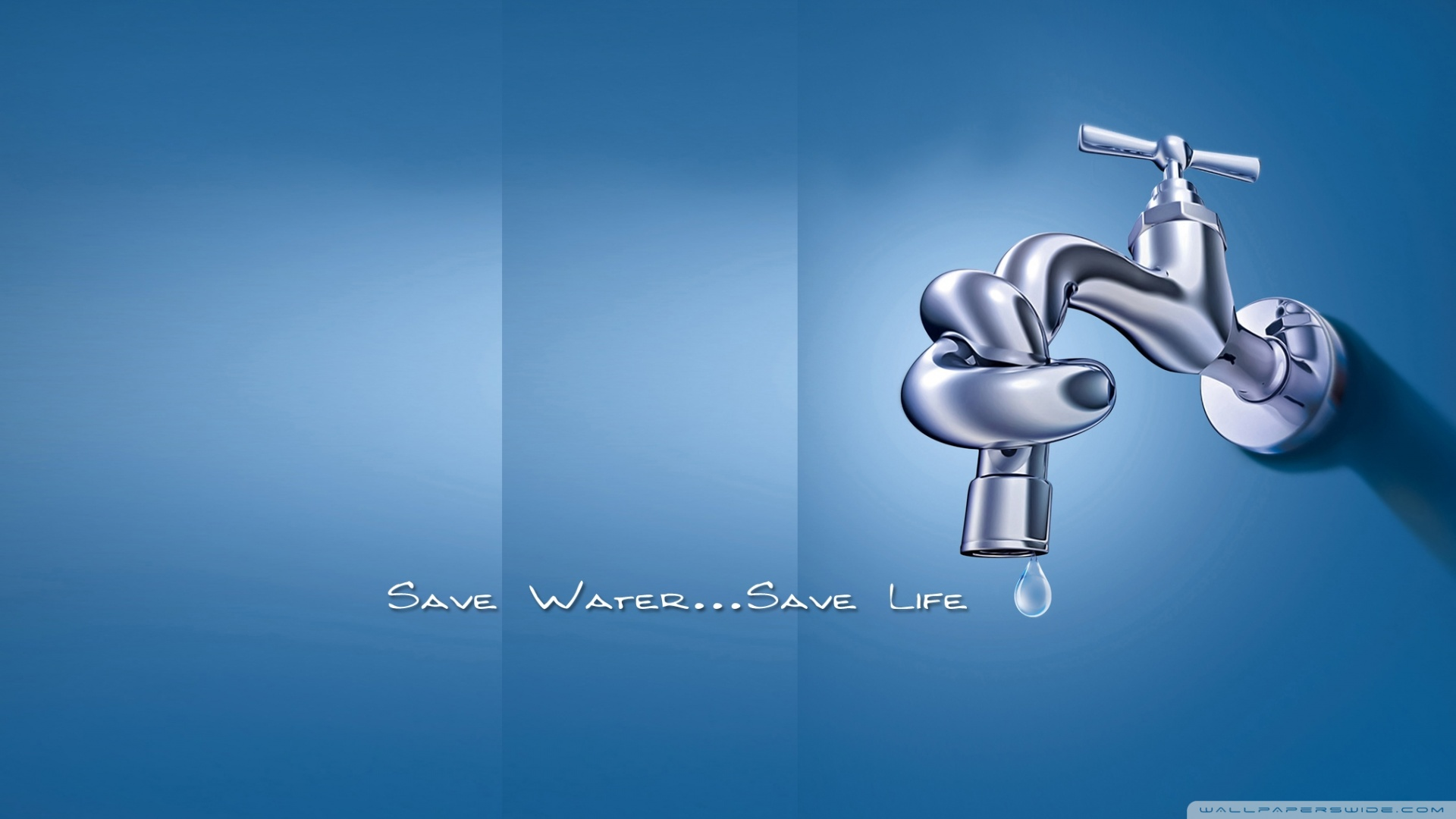 Save Water 4K HD Desktop Wallpaper for 4K Ultra HD TV