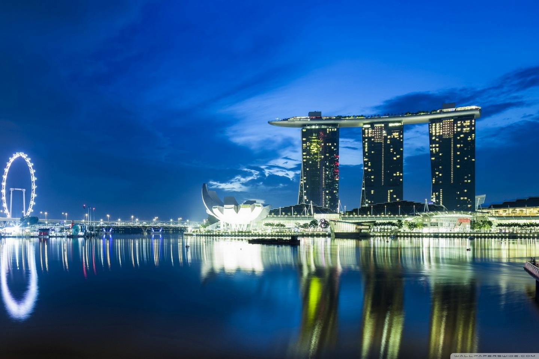 Windows 10 Wallpapers Hd Fall Singapore Skyline 4k Hd Desktop Wallpaper For 4k Ultra Hd