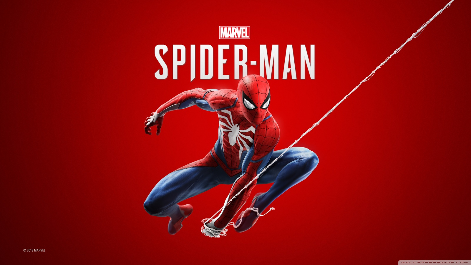 Download Wallpaper Spiderman Hd Spider Man 2018 Video Game 4k Hd Desktop Wallpaper For 4k