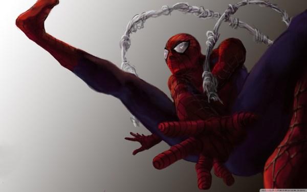 Spiderman Artwork 4k Hd Desktop Wallpaper Ultra Tv