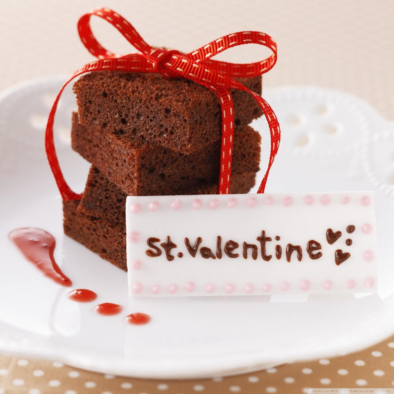 st valentine cake ❤ 4k hd desktop wallpaper for • tablet