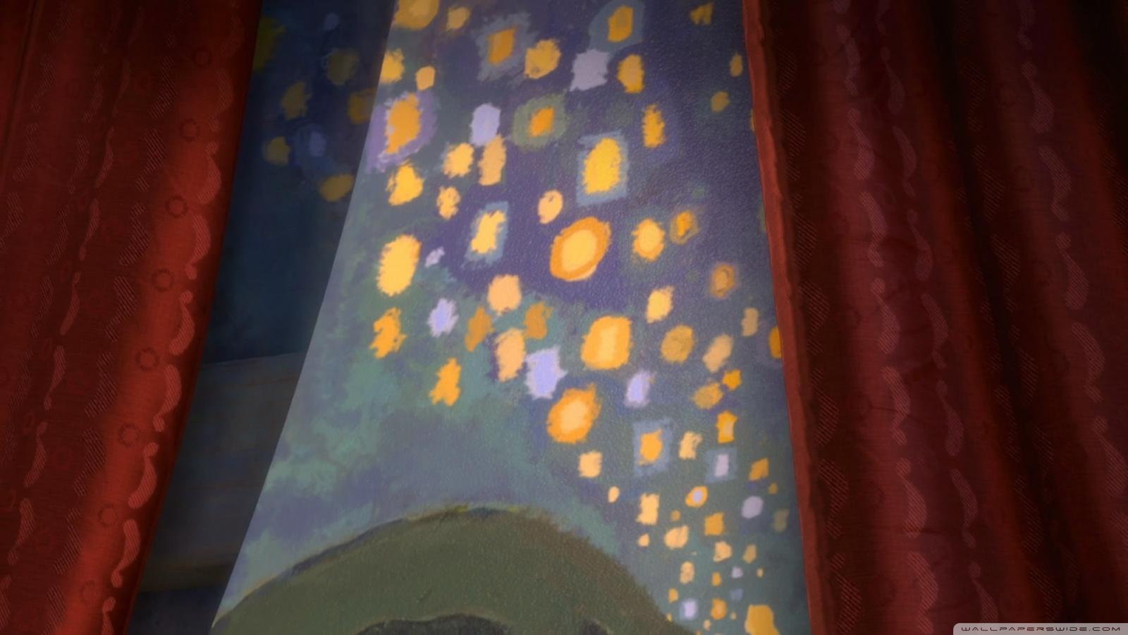 Tangled Rapunzel Paintings 4K HD Desktop Wallpaper for 4K