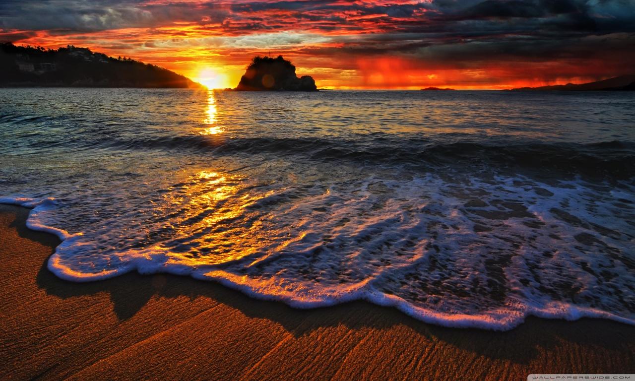 Tangolunda Bay, Huatulco, Mexico HD desktop wallpaper ...