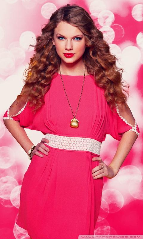 Taylor Swift Hd Wallpapers Download Taylor Swift In Pink Dress 4k Hd Desktop Wallpaper For 4k