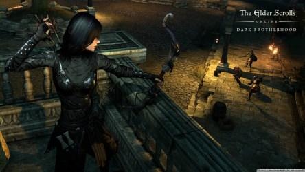 The elder scrolls online Dark Brotherhood Ultra HD Desktop Background Wallpaper for 4K UHD TV