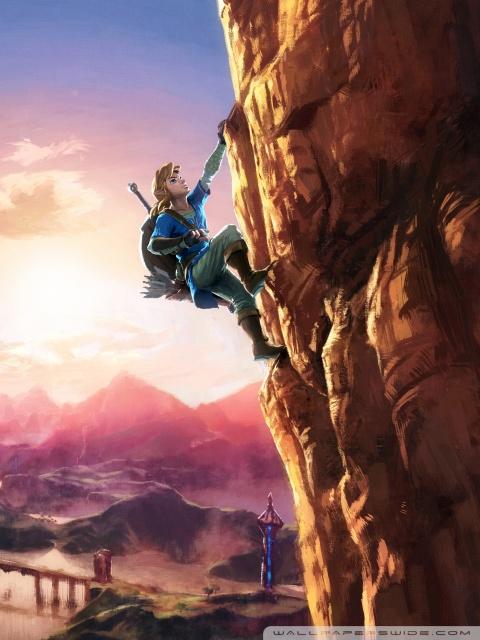 Pubg Wallpaper Dual Monitor The Legend Of Zelda Breath Of The Wild Link 4k Hd Desktop