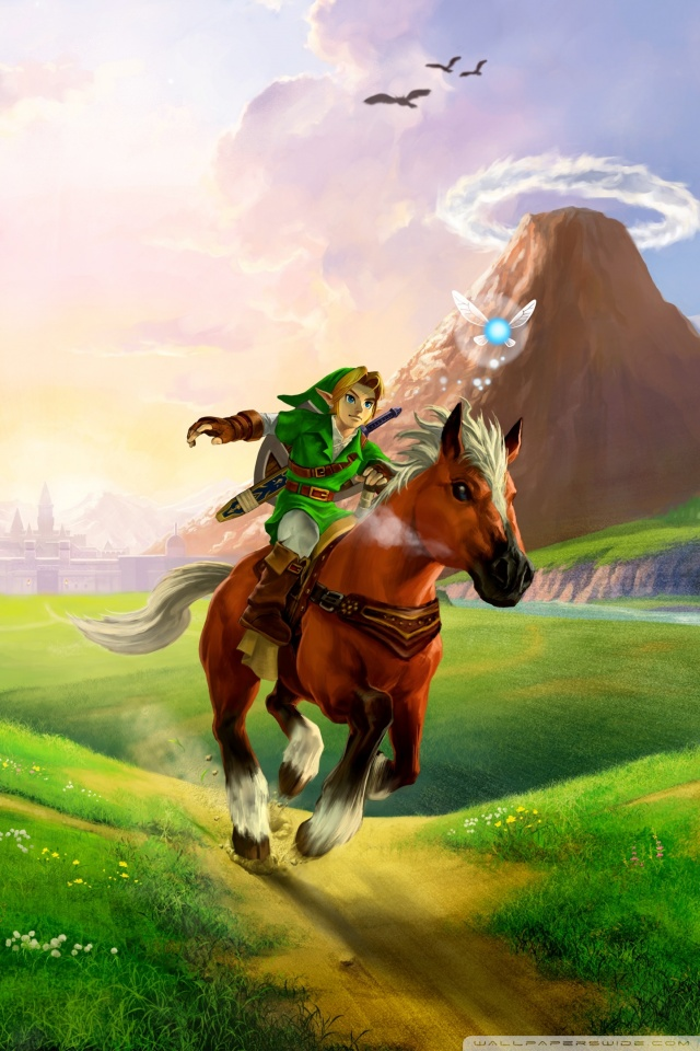 The Legend Of Zelda Ocarina Of Time 3D 4K HD Desktop