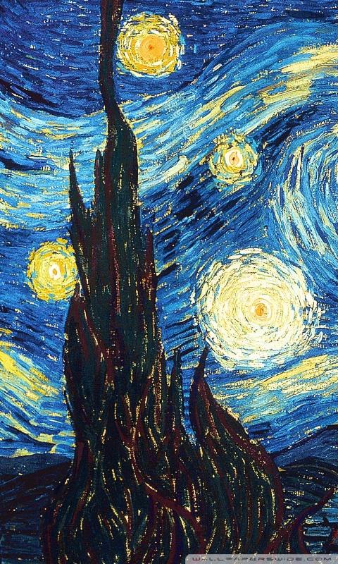 the starry night 4k