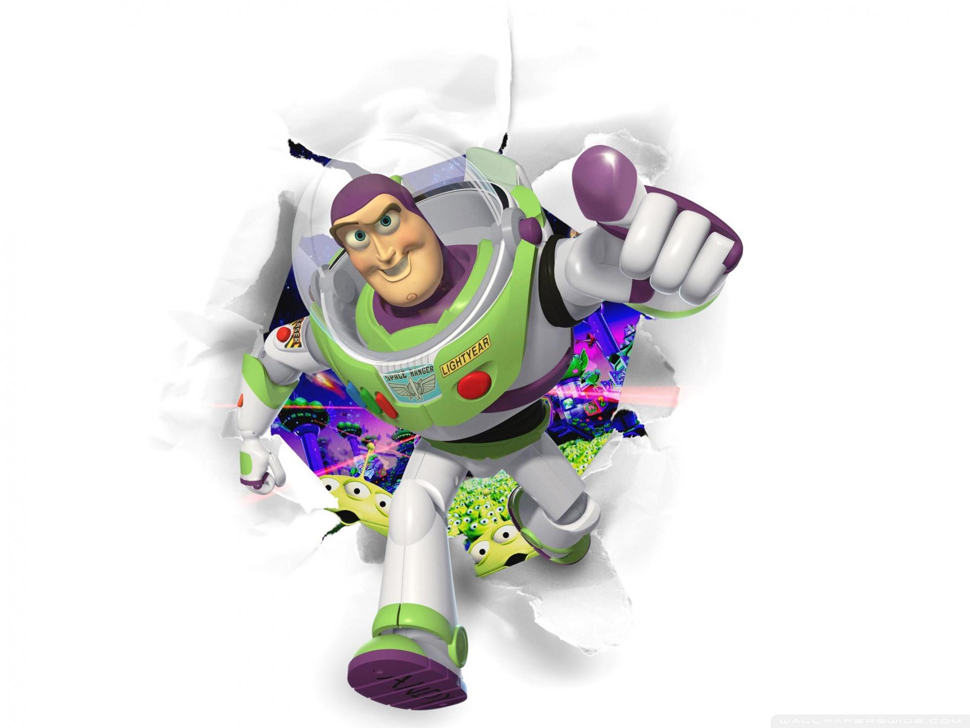Toy Story Buzz Lightyear 4k Hd Desktop Wallpaper For 4k