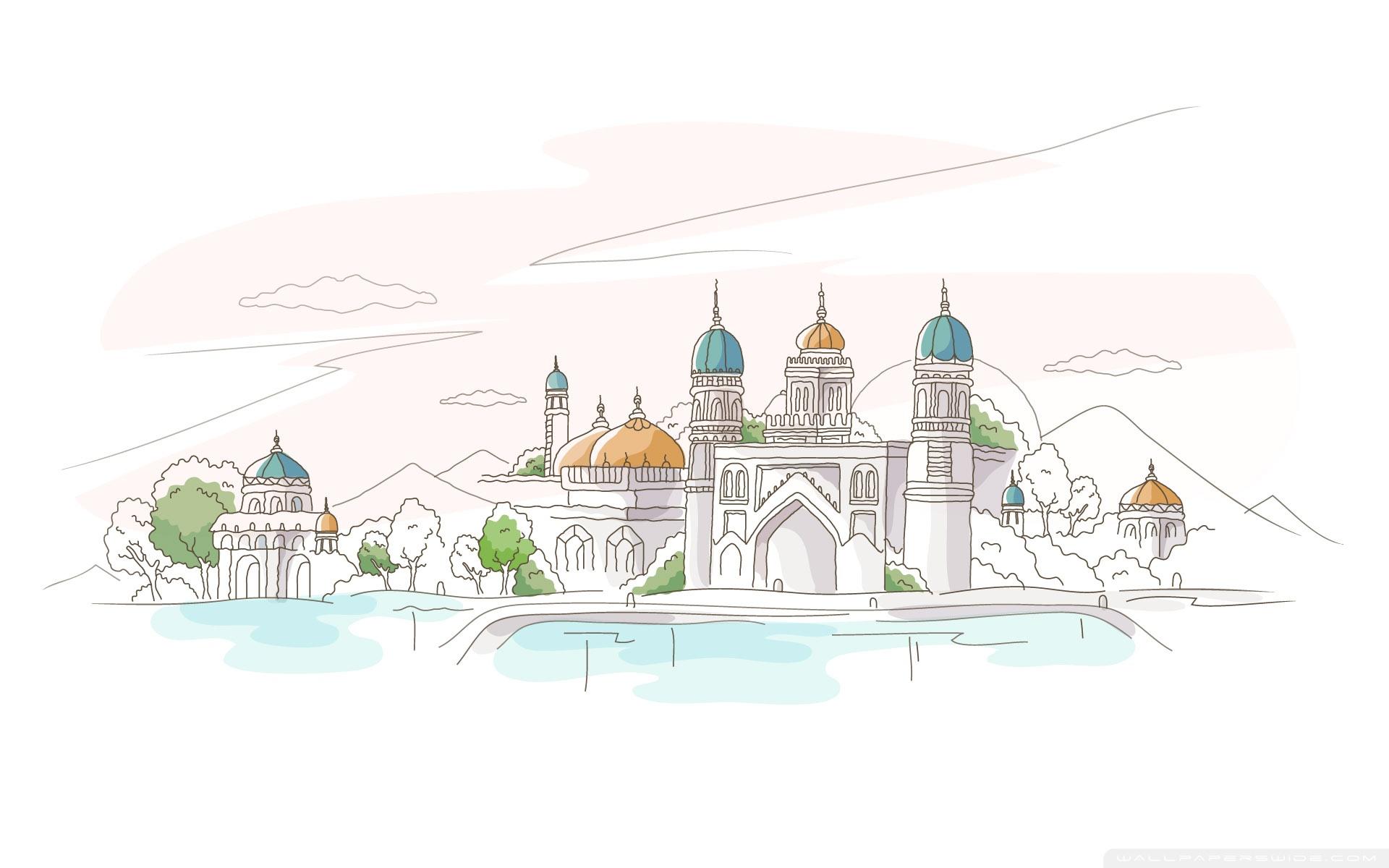 Cute Paris Wallpaper For Ipad Travel Illustrations Ultra Hd Desktop Background Wallpaper