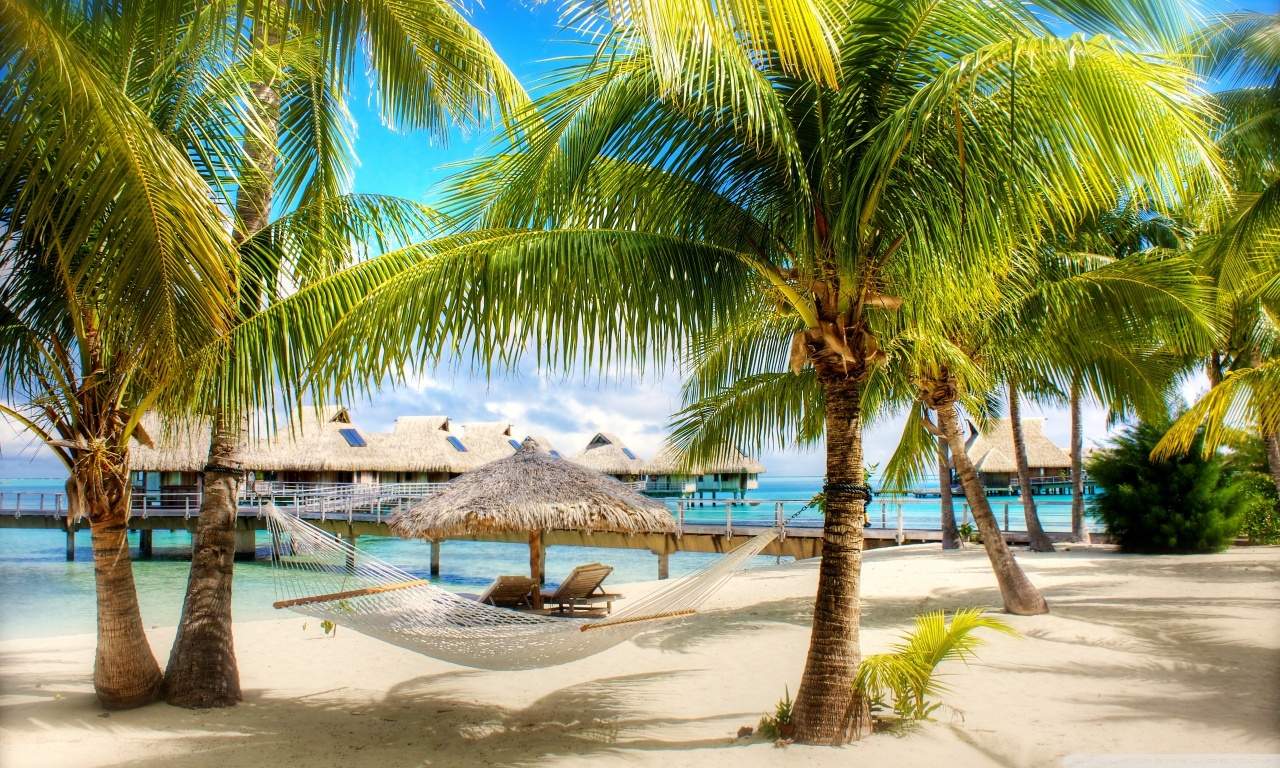 tropical beach resort ❤ uhd desktop wallpaper for ultra hd 4k 8k
