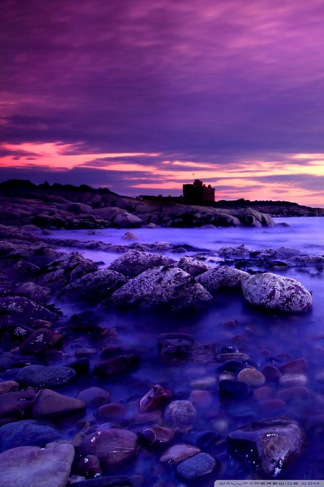 Iphone X Wallpaper Reddit Violet Clouds And Blue Water 4k Hd Desktop Wallpaper For
