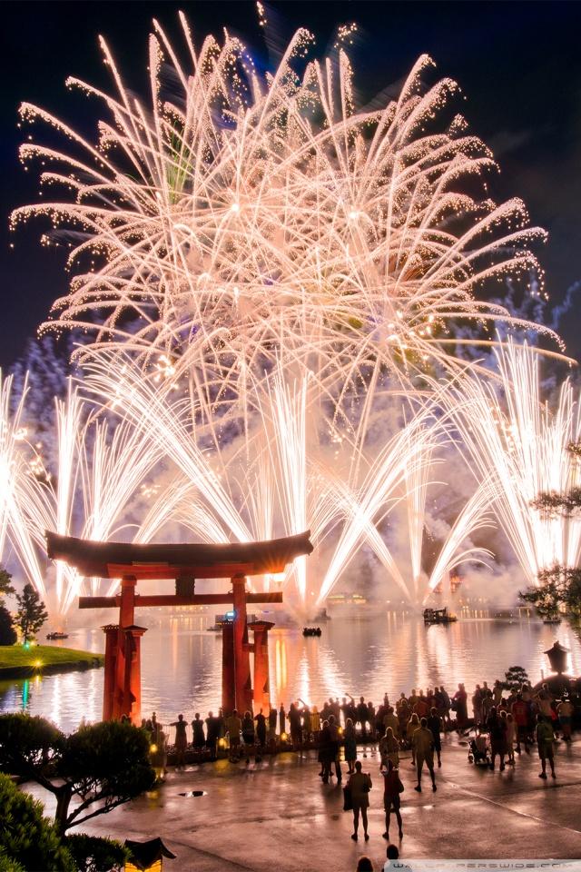 Iphone Happy New Year Wallpaper Walt Disney World Fireworks 4k Hd Desktop Wallpaper For 4k