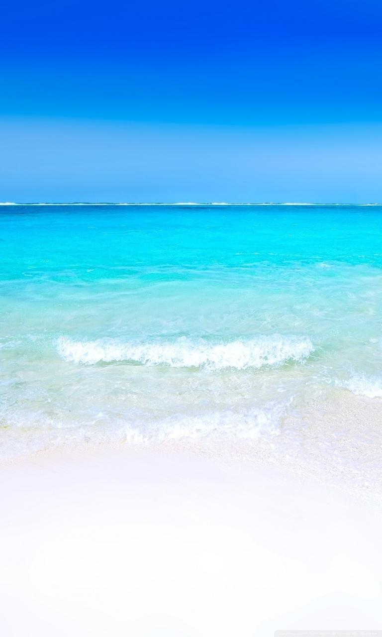 white sand beach 4k