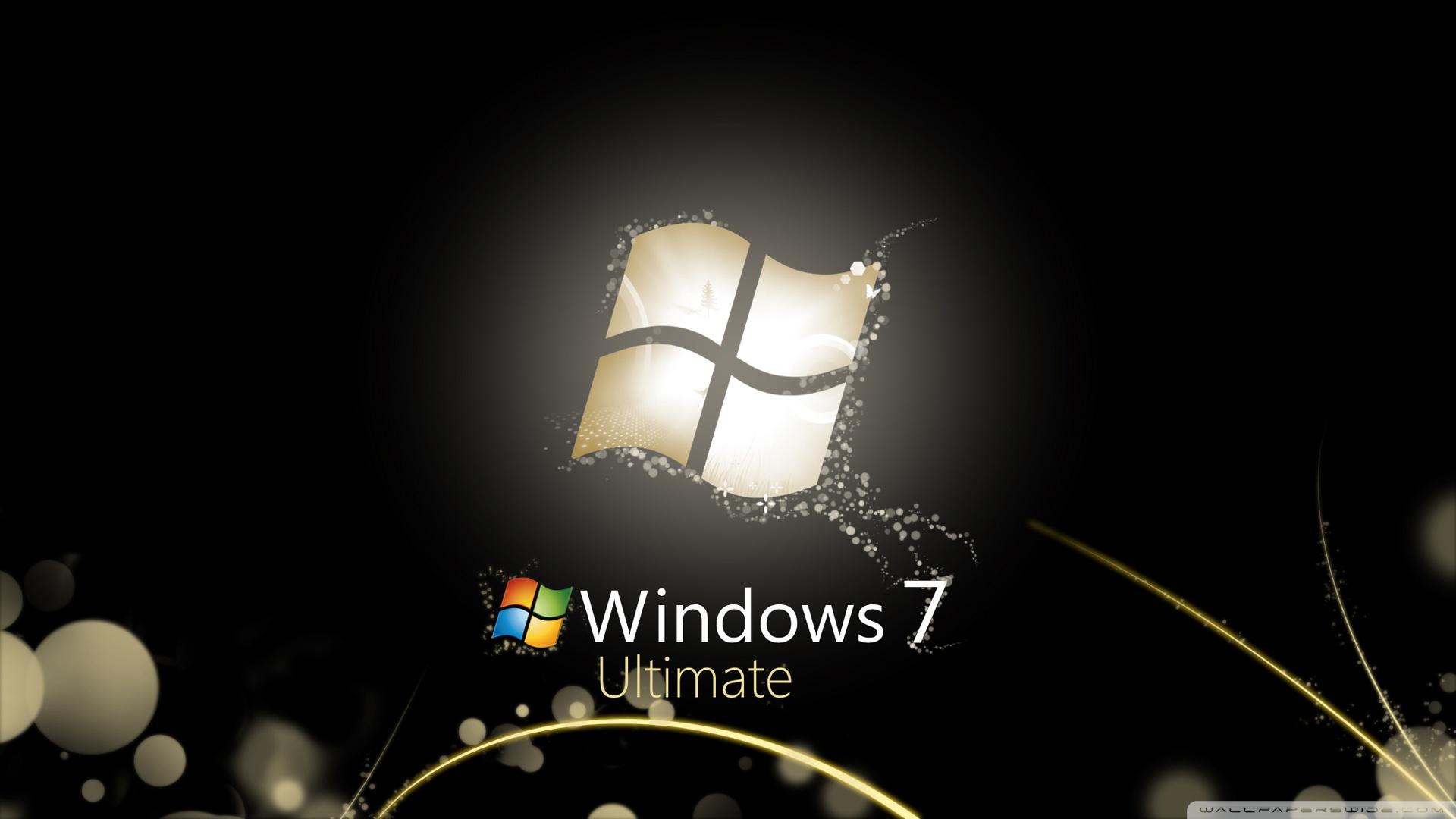 windows 7 ultimate bright