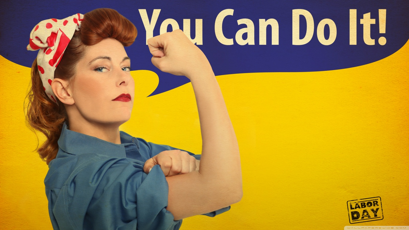You Can Do It Ultra HD Desktop Background Wallpaper for 4K UHD TV : Tablet : Smartphone