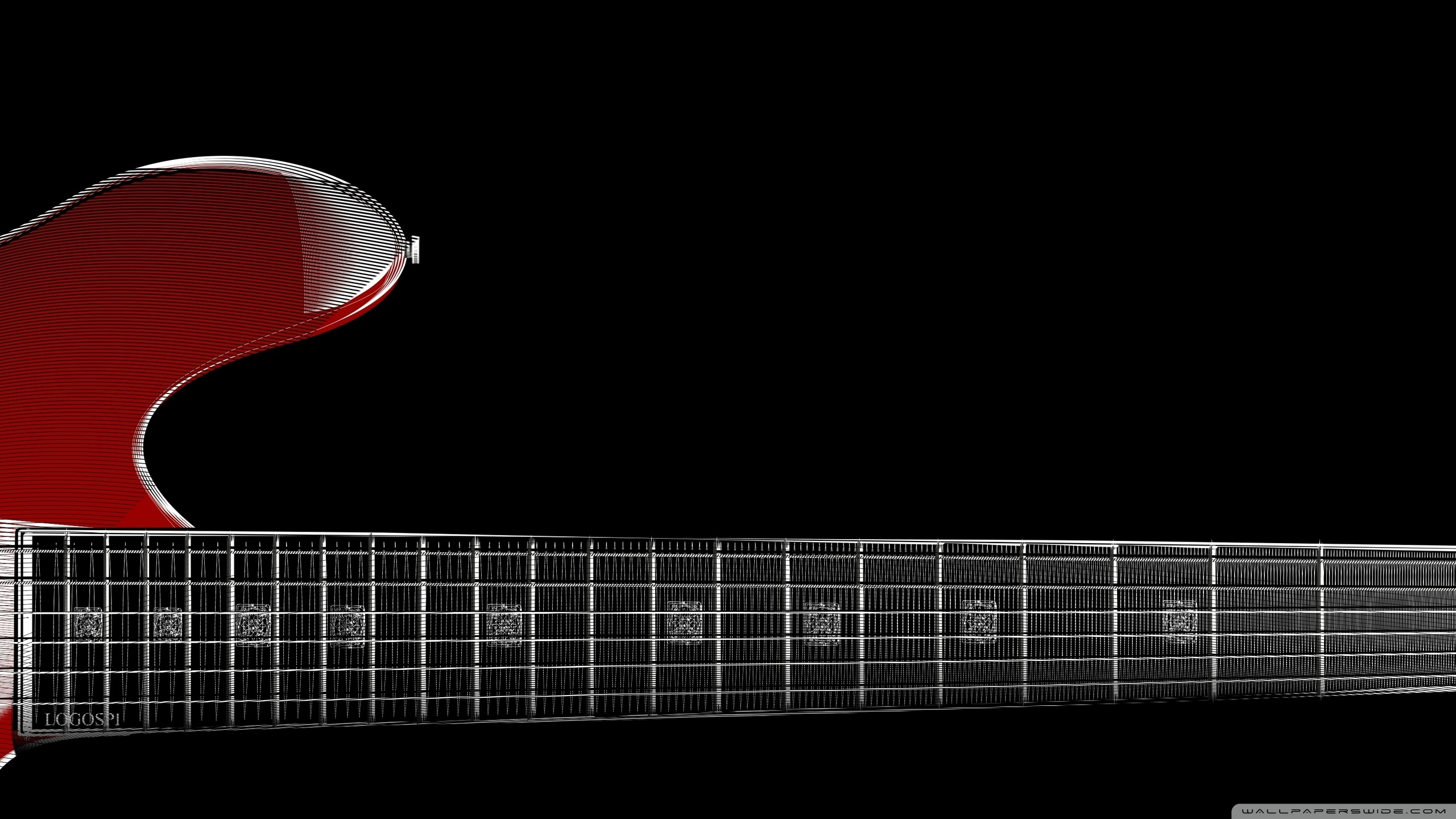 Guitar Hd Wallpaper Download Zoom Red Guitar 4k Hd Desktop Wallpaper For 4k Ultra Hd Tv