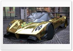 Pagani Zonda R Gold