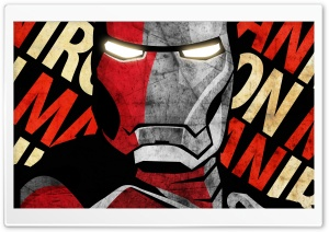 Shepard Fairey Iron Man Poster by IfDeathInspired