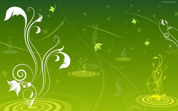 Green Background Free Cool High