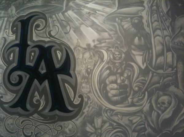 Chicano Art Murals and Graffiti