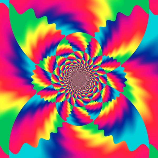 Psychedelic Background Free Stunning Full Hd