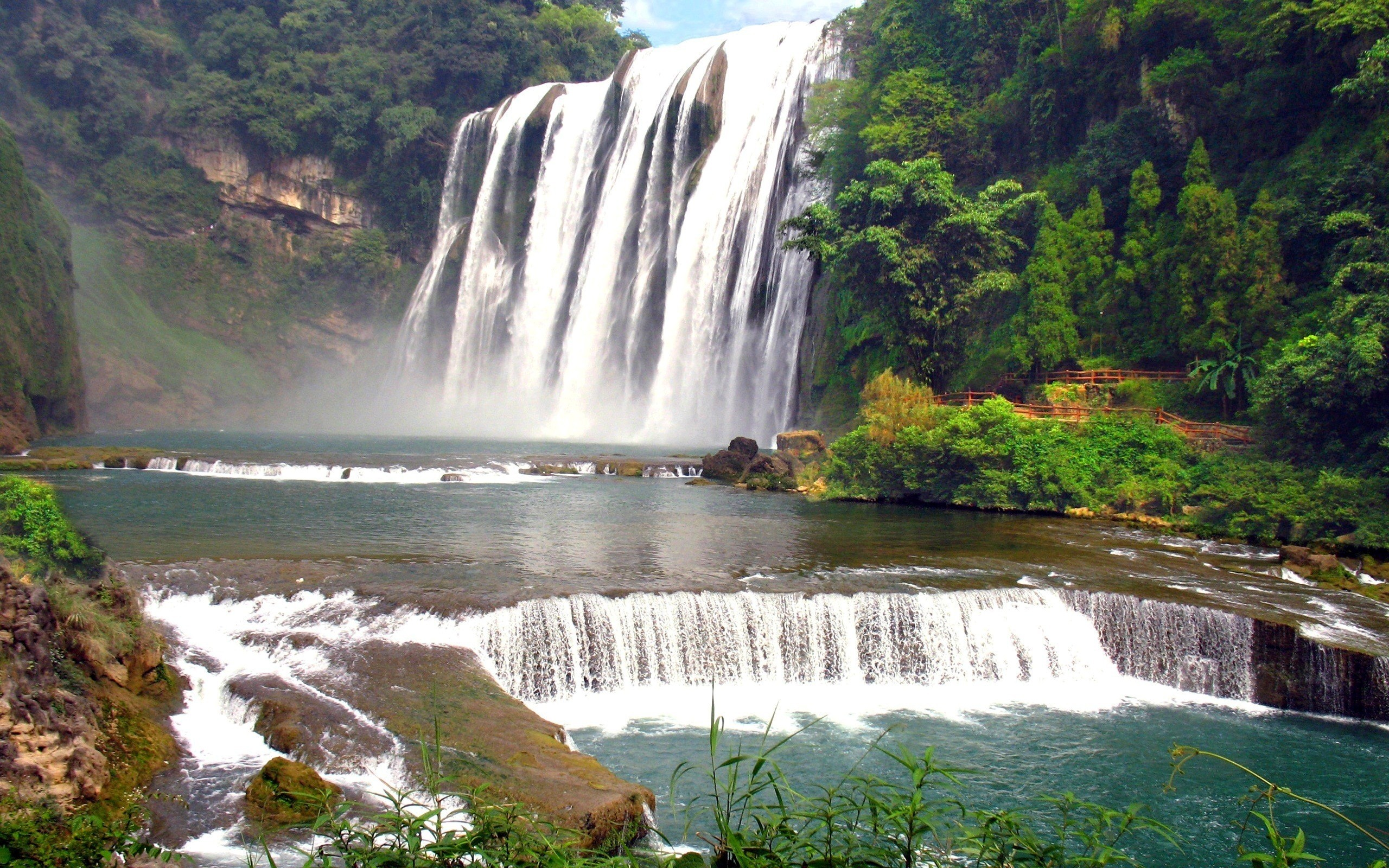 Great Falls Wallpapers Hd Widescreen Waterfall Background Pictures 183 ① Wallpapertag