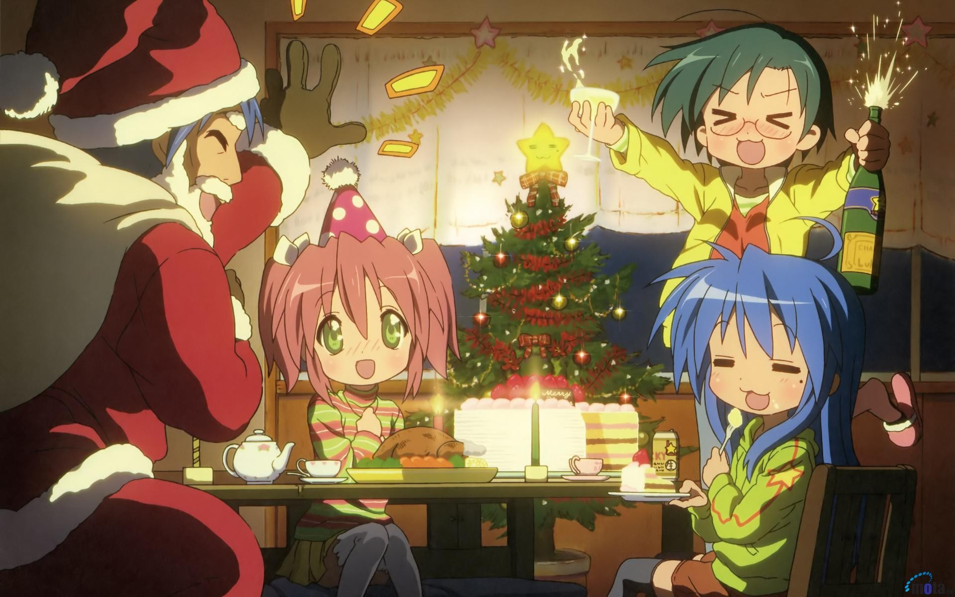 Cute Chibi Girl Wallpaper Anime Christmas Wallpaper 183 ① Download Free Awesome Hd