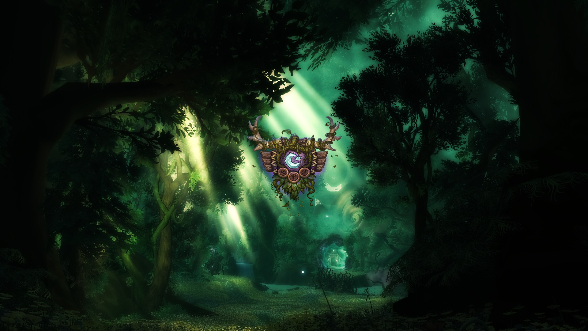 Wow Druid Icon Background