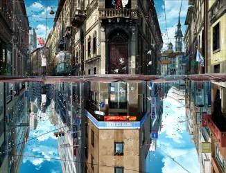 anime street desktop wallpapers iphone laptop wallpapertag android