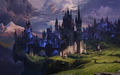 Beautiful Medieval Fantasy Castle