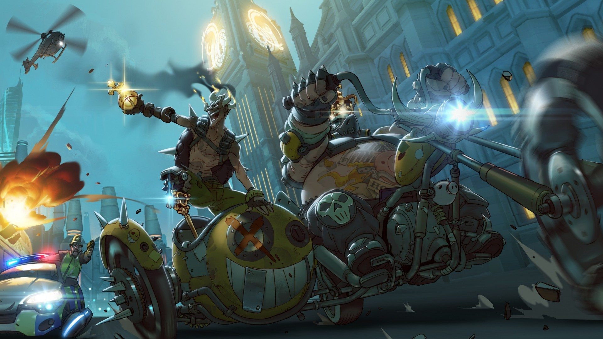 Tank Girl Wallpaper Android Overwatch Wallpaper 1080p 183 ① Download Free Cool High