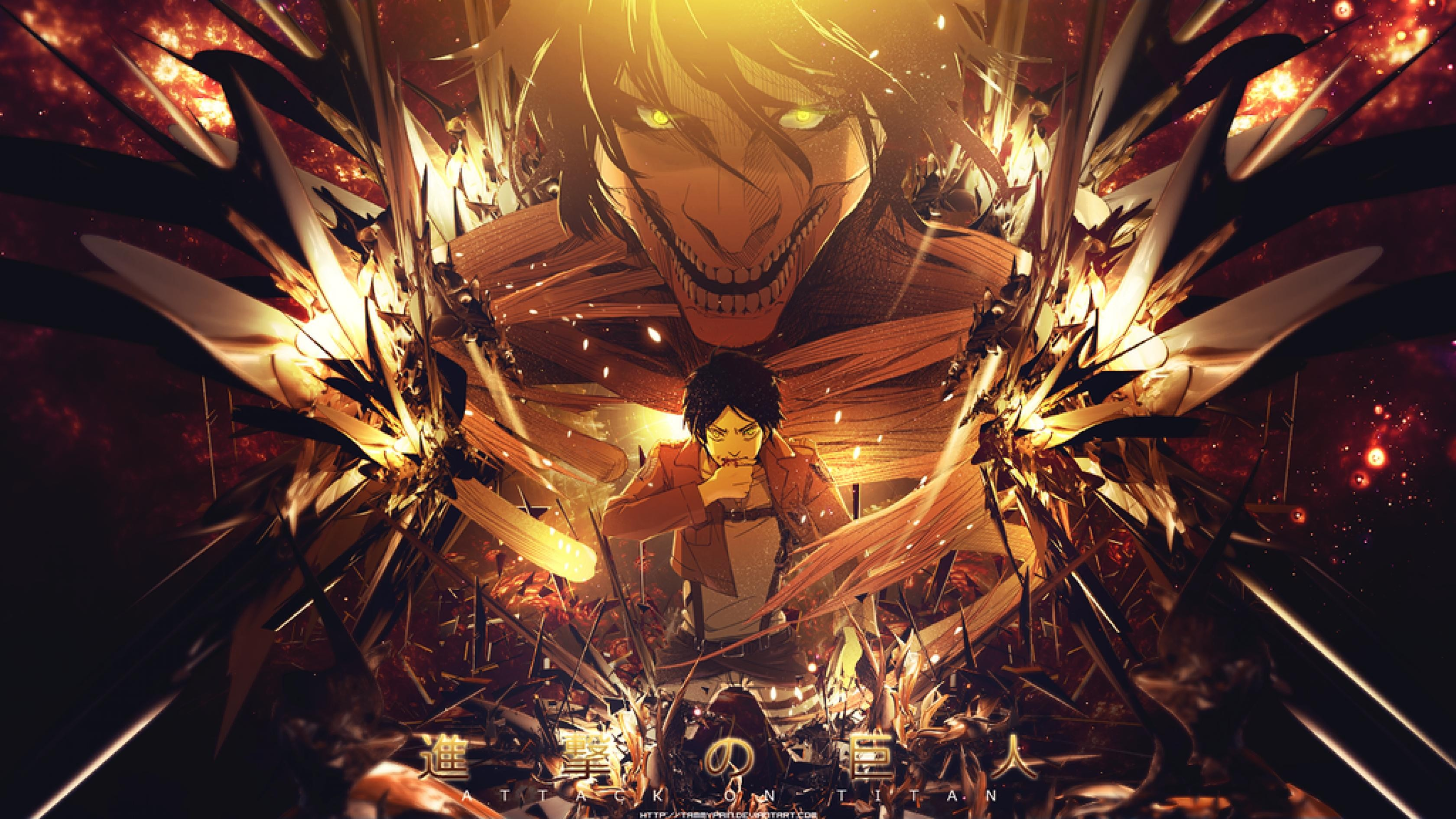 Who are the best characters in the popular japanese attack on titan anime series? Attack on Titan background ·① Download free beautiful HD ...