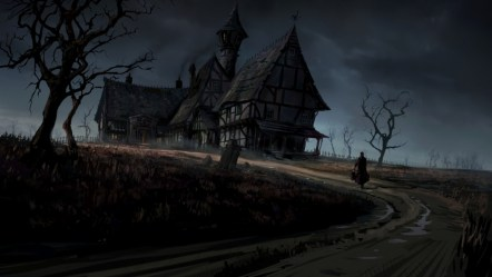 gothic background horror dark desktop haunted rain wallpapers hd resolution android iphone mobile wallpapertag storm