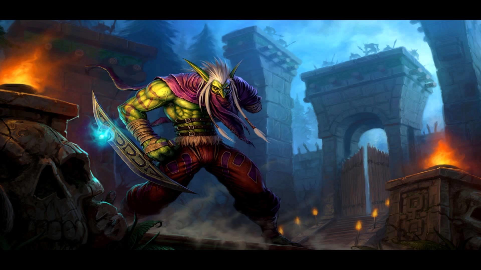 World Of Warcraft Wallpapers Hd Troll Wow Wallpaper 183 ① Wallpapertag