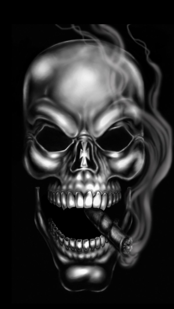 Dark Skull Wallpaper Wallpapertag