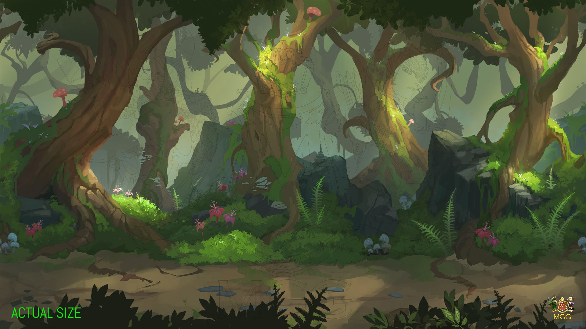 Gravity Falls Wallpaper Forest Background Forest 183 ① Wallpapertag