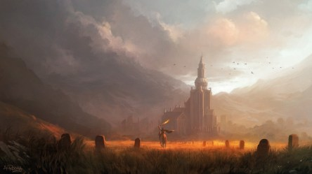 fantasy landscape fields gold hd andreas rocha wallpapers amazing desktop paintings landscapes 1920 backgrounds background andreasrocha digital illustrations scenery abstract