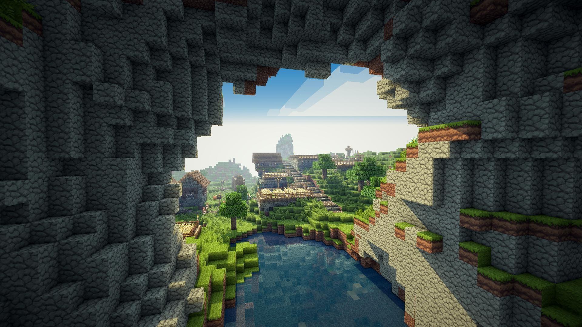 Cool Minecraft Background WallpaperTag