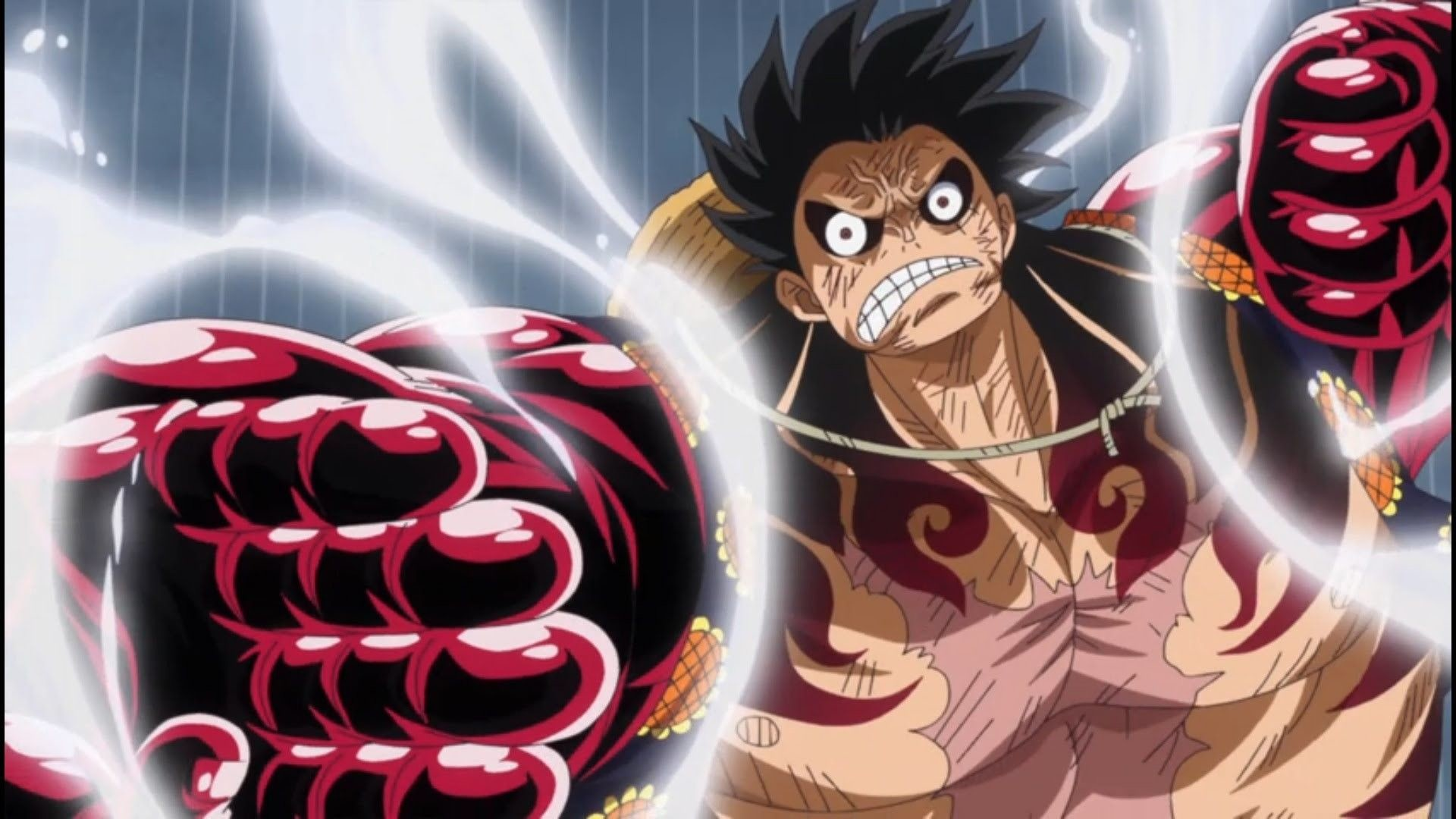 Action figure one piece king of artist monkey d luffy gear 4 wano country. Luffy Gear 4 Wallpapers ·① WallpaperTag