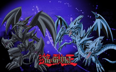 dragon eyes vs gi yu oh headed three fullsize official wallpapertag desktop