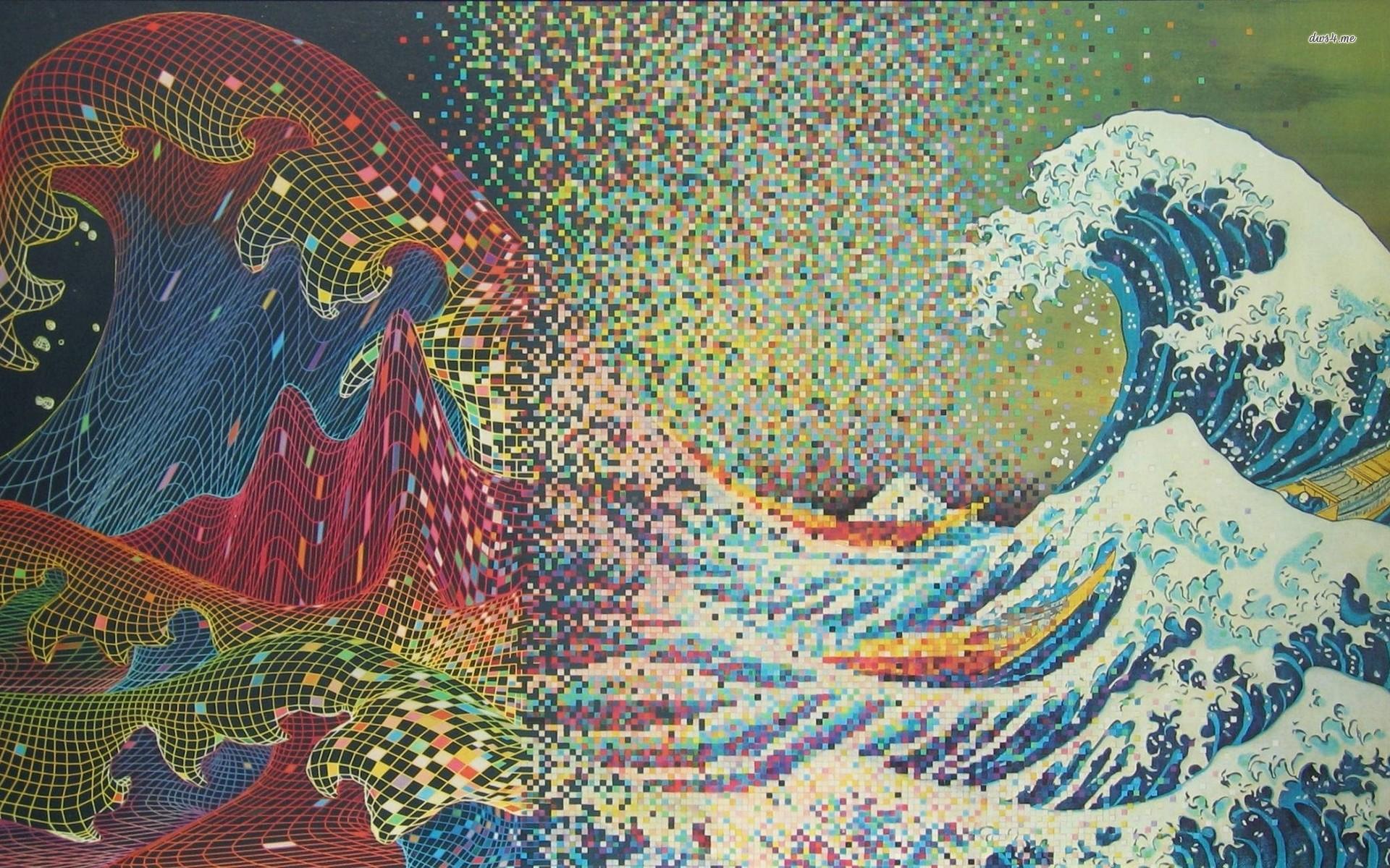 The Great Wave Off Kanagawa Iphone Wallpaper The Great Wave Off Kanagawa Wallpaper 183 ① Wallpapertag
