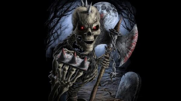 Evil Skull Warrior