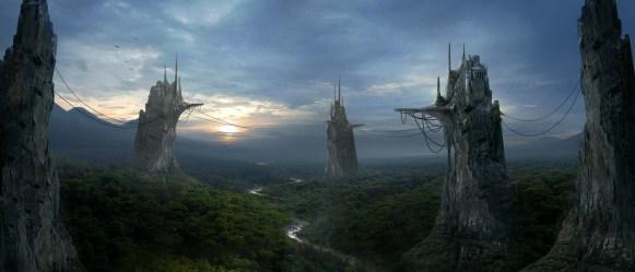 Wallpaper Fantasy Castle