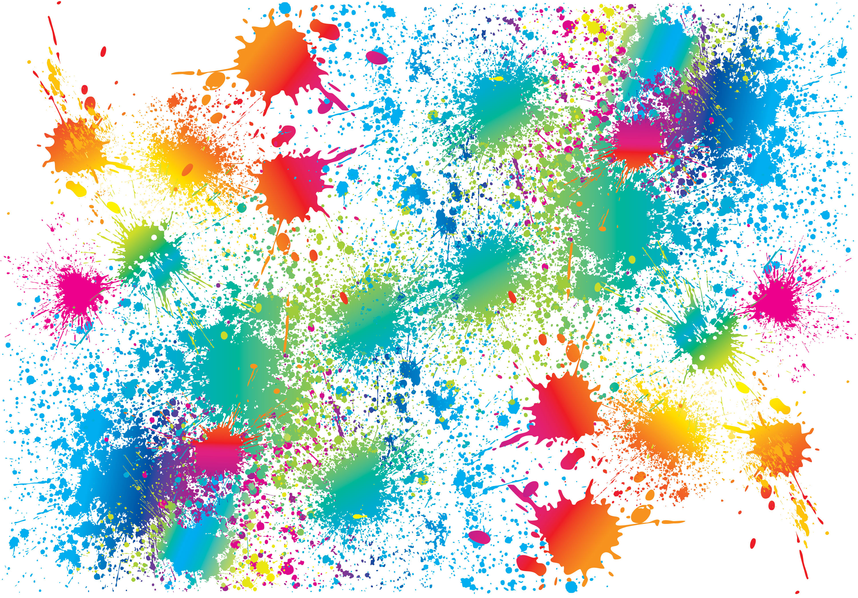 Paint Splat Wallpaper