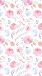 floral watercolor iphone backgrounds flower flowers pretty flowery wallpapers pattern pink hd paper cute purple seamless phone desktop wall parede