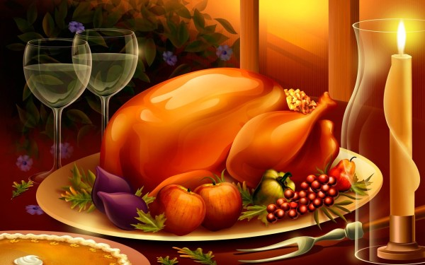 Thanksgiving Background Vertical Year Of Clean Water